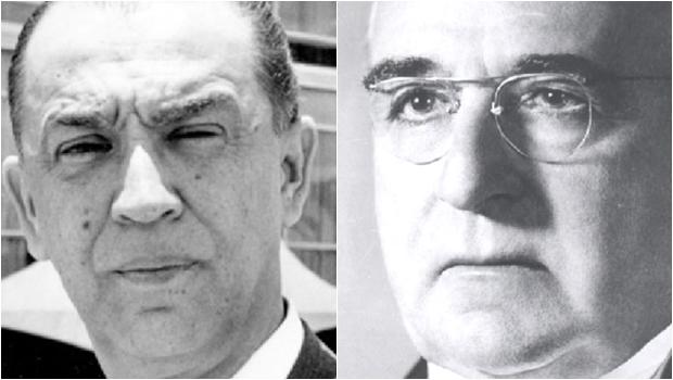 Getúlio Vargas e Juscelino Kubitschek: os dois presidentes foram combatidos por seus adversários, apontados como corruptos. Mas a história provou que não eram desonestos e, sobretudo, eram estadistas