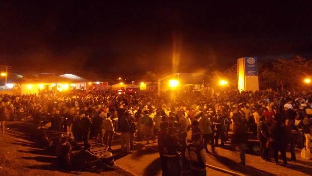 Praça de eventos da Cidade de Goiás | Foto: Sarah Teófilo