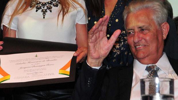 Ex-governador Joaquim Roriz recebe título de Cidadão Honorário de Brasília
