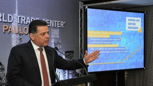 Marconi ressalta crescimento de Goiás em encontro com empresários