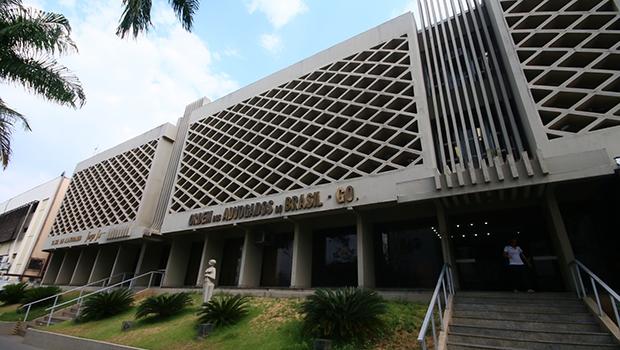 Sede da OAB Goiás, no Setor Marista, foi construída durante gestão de Felicíssimo Sena | Foto: Renan Accioly/Jornal Opção
