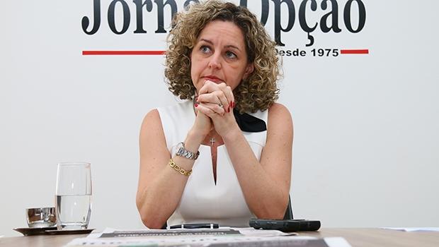Secretária Ana Carla Abrão | Foto: Fernando Leite / Jornal Opção