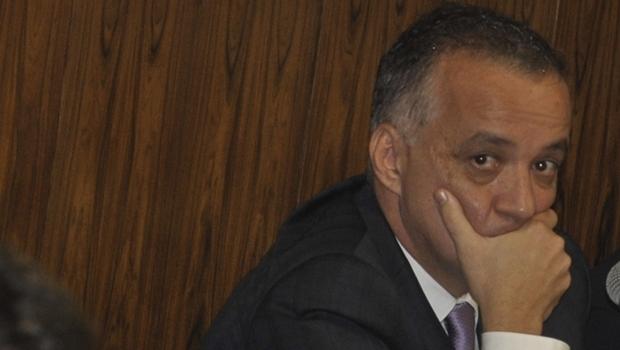 Carlos Cachoeira durante a CPI do Cachoeira em 2012 | Foto: José Cruz/ ABr