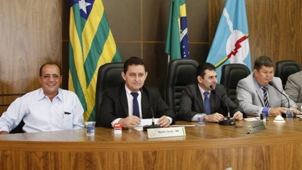 Ex-prefeito durante sessão na Câmara Municipal no começo deste mês | Foto: reprodução / Cãmara