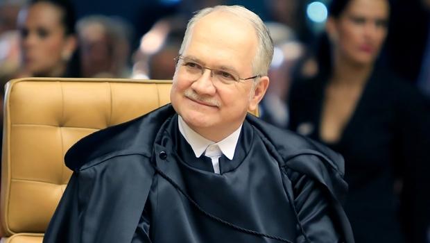 Ministro Luiz Edson Fachin no Supremo Tribunal Federal | Foto: Fellipe Sampaio/ SCO/ STF