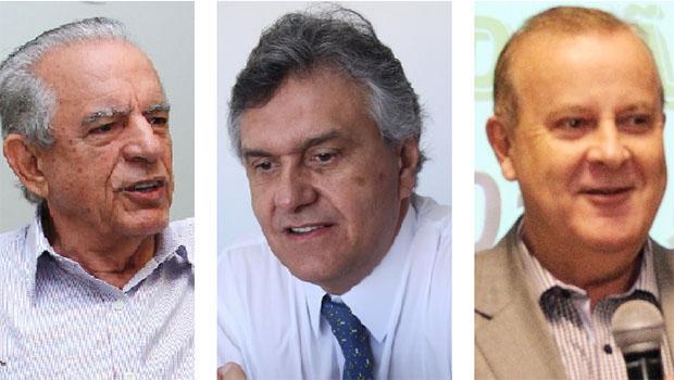 Se candidato a prefeito, Iris Rezende precisará escolher entre o DEM de Ronaldo Caiado e o PT de Paulo Garcia   Fotos: Fernando Leite/Jornal Opção