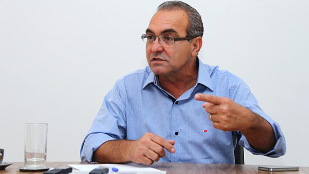 Jânio Darrot quer dar continuidade ao trabalho de reestruturação de Trindade | Fernando Leite/Jornal Opção