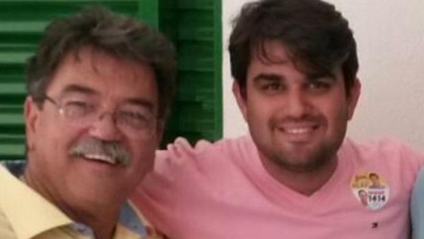 Deputado Júlio da Retífica e o filho, Júlio Melo Júnior | Foto: Facebook