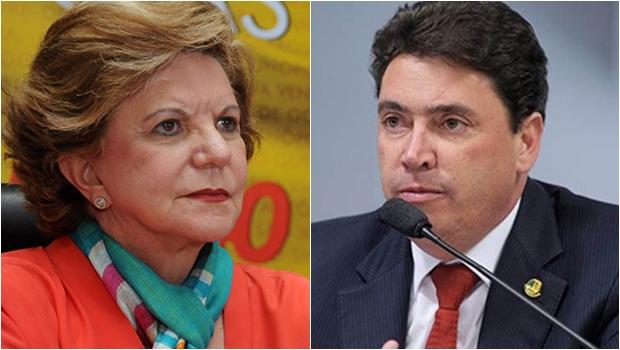 Lúcia Vânia e Wilder Morais:  quem vai disputar a 2ª vaga?