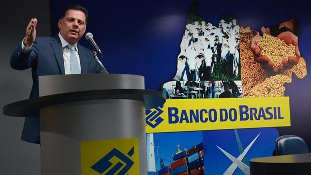 Governador Marconi Perillo discursa durante evento do BB   Foto: Mantovani Fernandes