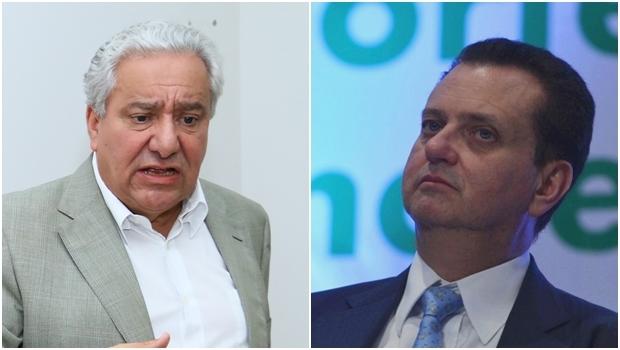 Vilmar Rocha e Gilberto Kassab | Fotos: Fernando Leite - Jornal Opção / Valter Campanato -  Agência Brasil