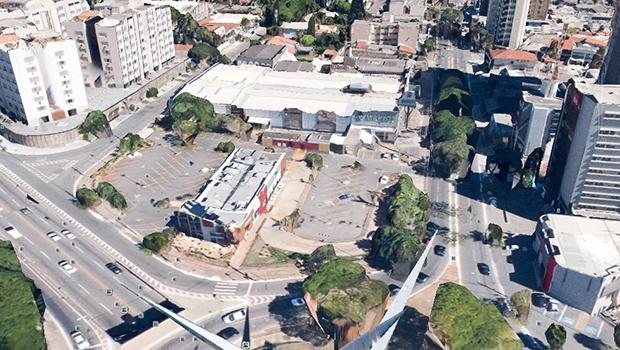 Área onde será erguido o mais novo megaempreendimento de Goiânia: boa intervenção — se houvesse estrutura