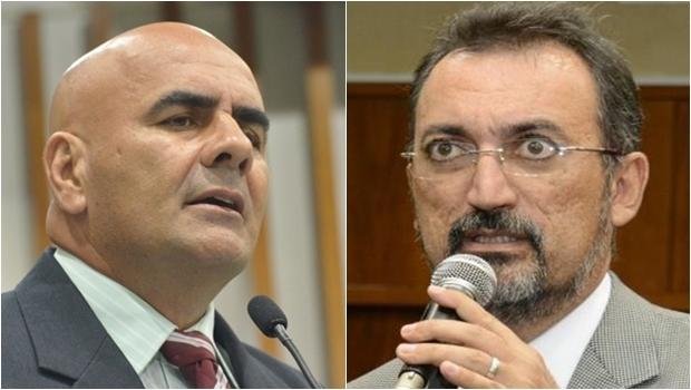 Paulo Cezar Martins, do PMDB, e Humberto Aidar, do PT | Fotos: Marcos Kennedy e Carlos Costa
