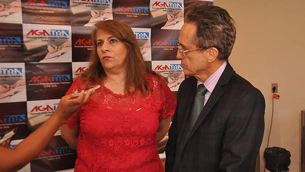 Presidente da Abrat, Silvia Burmeister | Foto: Divulgação