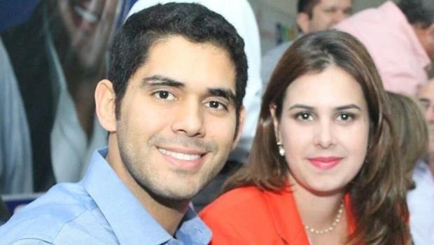 Lincoln e Priscilla Tejota. Deputado pode apostar na esposa para a Câmara Municipal de Goiânia | Foto: reprodução / Facebook