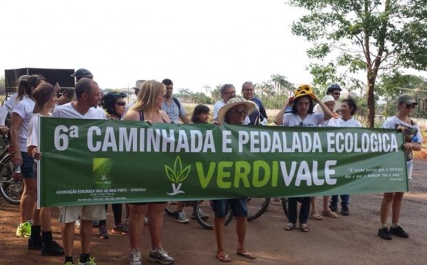 Cerca de 4 quilômetros foram percorridos pela região norte de Goiânia, na 6ª Caminhada Ecológica da Verdivale