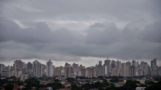 Previsão de pancadas de chuva em Goiás nesta sexta-feira (17)