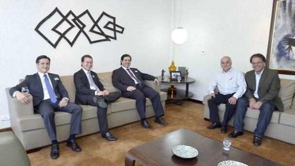 Advogados-Julio-Meirelles-Dyogo-Crosara-Flavio-Buonaduce-Presidente-Helio-de-Sousa-deputado-Adib-Elias-PMDB