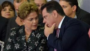 Governador Marconi com a Presidenta Dilma no Lançamento do BRT fotos Eduardo Ferreira