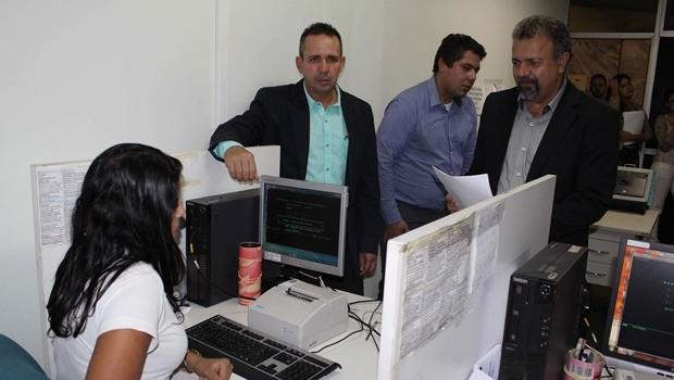 Vereadores Geovani Antônio e Elias Vaz protocolam ação no TJGO | Foto: Ascom Elias Vaz