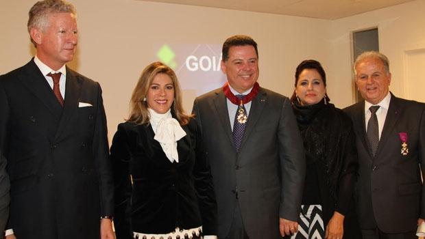 Governador recebe a Comenda da Ordem da Coroa da Bélgica (1)