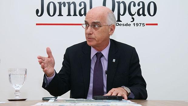 Reitor da UFG, Orlando Valle | Fernando Leite