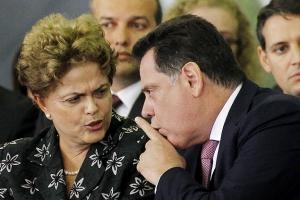 Marconi Perillo e Dilma Rousseff DilmaPerilloBetoBarataFolha