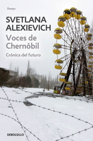Svetlana Alexievich capa de Voces de Chernobyl