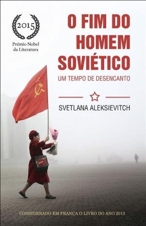 Svetlana Alexievich capa do livro publicado em Portugal