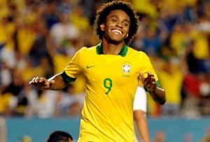 Willian é jogador da seleção brasileira