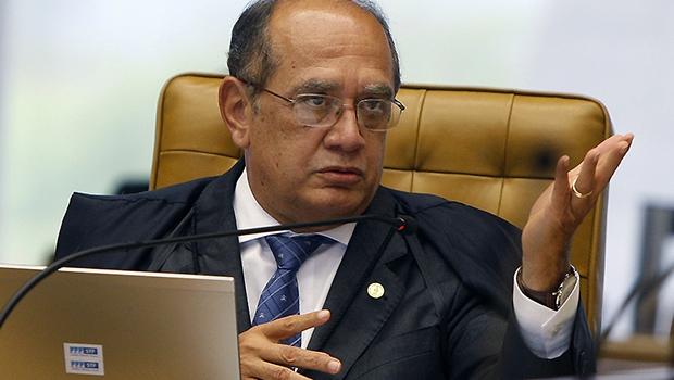 Gilmar Mendes: espécie de Joaquim Barbosa do momento, ministro do Supremo Tribunal Federal diz que o Brasil está ganhando apenas a copa da corrupção e que laranjas vão dominar os pleitos eleitorais   Nelson Jr./SCO/STF