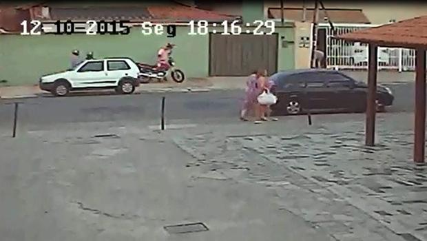 Câmeras mostram ação na casa de vereador | Reprodução/Vídeo