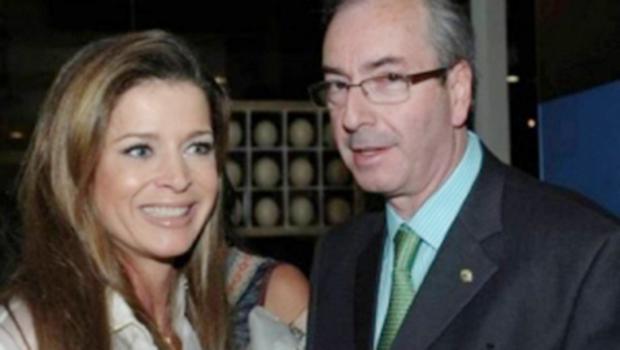 Eduardo Cunha e a jornalista Cláudia Cruz, ex-TV Globo, movimentaram 22 milhões de reais na Suíça