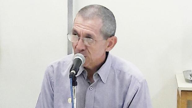 Wilmar Batista Moraes, responsável por fiscalizar obras de Louza | Foto: Thais Barbosa/Divulgação