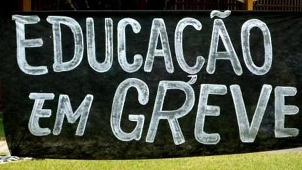 Professor municipais não aceitaram proposta da prefeitura e entraram em greve   Reprodução