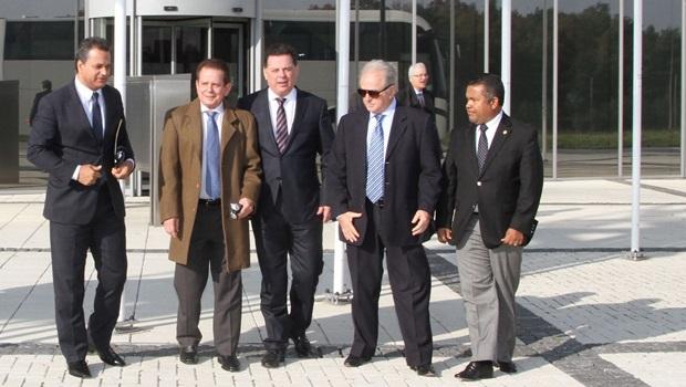 Marconi visita campus high tech na Holanda e articula parcerias com o Inova Goiás