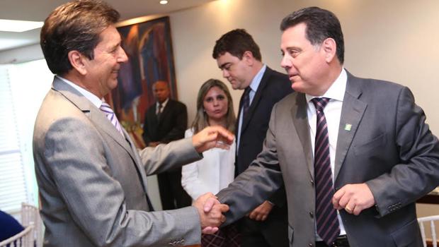 Aparecida de Goiânia pode ser laboratório de aliança entre o PMDB de Maguito e o PSDB de Marconi