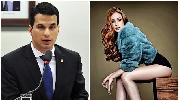 Filho da ministra Kátia Abreu seria o novo affair da atriz Marina Ruy Barbosa