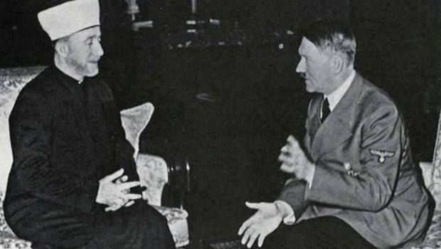 Mufti Haj Amin al Husseini e Adolf Hitler: sócios no terror nazista