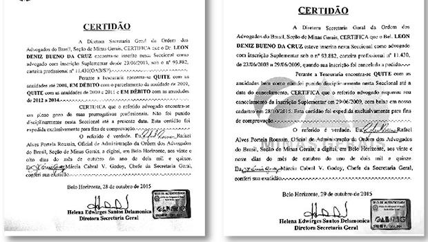 Leon Deniz sofre impugnação de candidatura