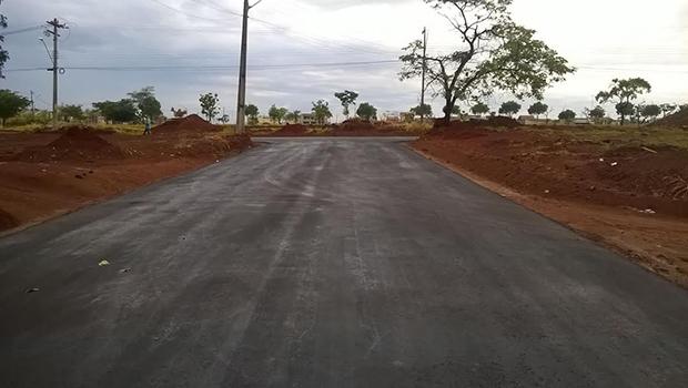 Concluída pavimentação no Parque Santa Rita II