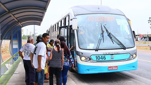 Ônibus articulados da Metrobus operam na extensão do Eixo na GO-070