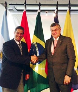 Armando Vergílio e Marco Antônio Rossi