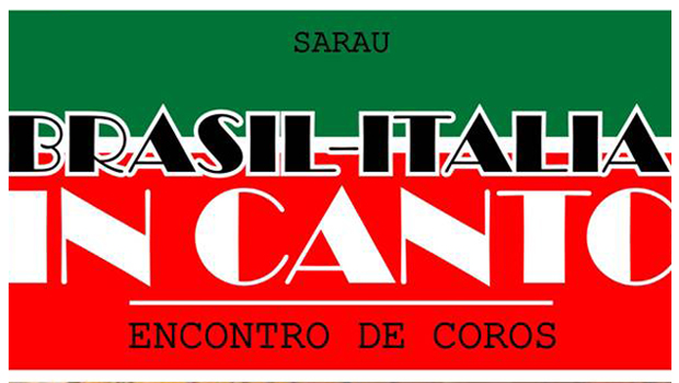 Madrigal Lettere InCanto realiza tradicional sarau Brasil-Itália