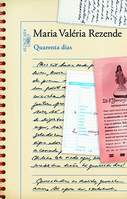 """Capa do livro """"Quarenta Dias"""""""