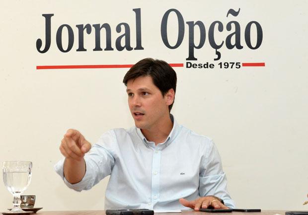 Presidente do PMDB de Goiás, deputado Daniel Vilela | Foto: André Costa