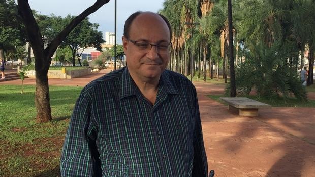 Edilberto Dias, durante entrevista no ano passado | Foto: Alexandre Parrode / Jornal Opção