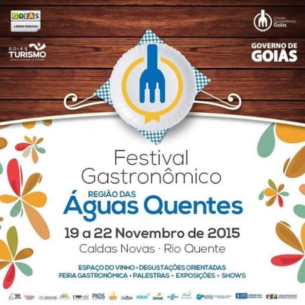 Festival Gastronômico Região das Águas Quentes - Divulgação 1