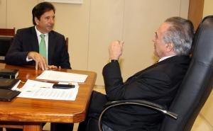 Maguito Vilela e Michel Temer maguito michel temer g ggg