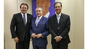 Pedro Chaves Friboi-Michel-Temer-e-Pedro-Chaves